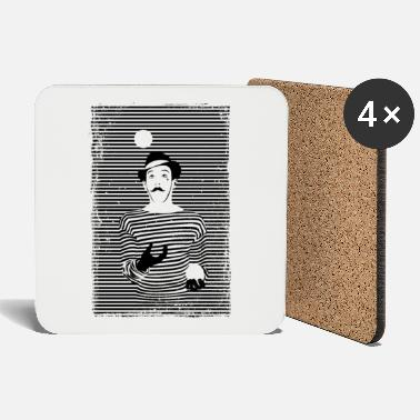 Mime The Mime - Coasters