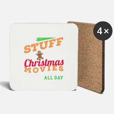Christmassy Christmas Christmassy Gingerbread Movies Gift - Coasters