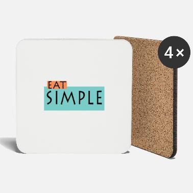 Eat Eat simple - Eat easy - Coasters