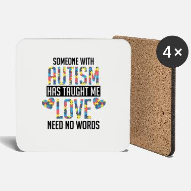 Autist Autism Shirt Autist Sayings Gift - Coasters