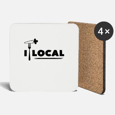 Local Eat Local - Coasters