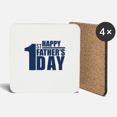Over Father's Day Father's Day Father Papi Best Dad - Coasters