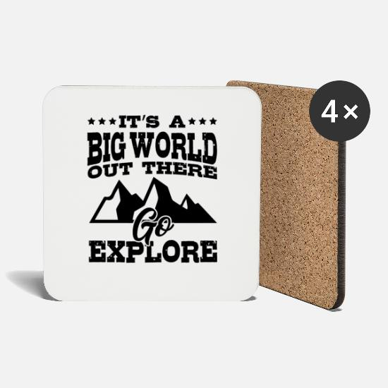 Travel Mugs & Drinkware - Travel - Coasters white