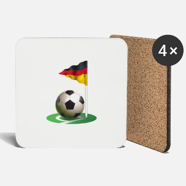 Corner Kick Football, corner - Coasters