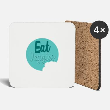 Eat Eat vegan - Eat vegan - Coasters