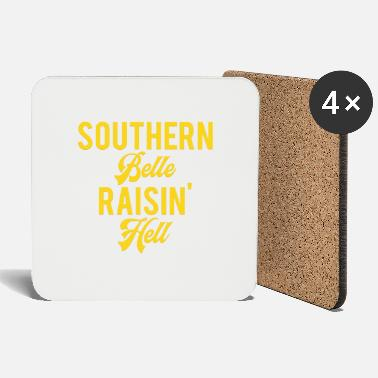 Southern Southern Belle Raisin Hell - Coasters