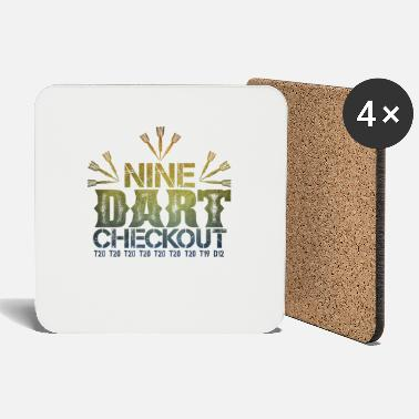 9 Darts Nine Darts Checkout make 9 perfect darts - Coasters