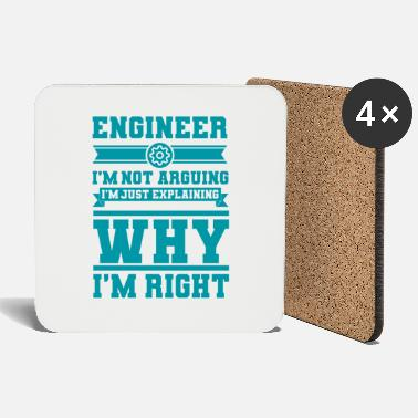 Engineer Engineer Is Right Gifts For Engineers - Coasters