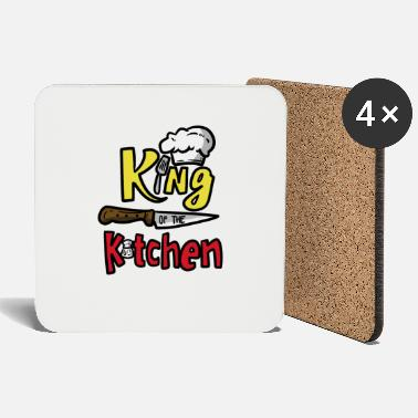 Kitchen Knives King of the Kitchen King of the kitchen - Coasters
