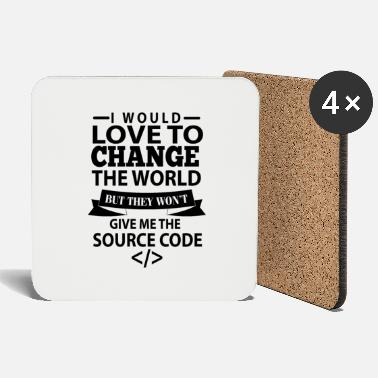 Software Code Programmer Nerd Bug Developer Gifts - Onderzetters
