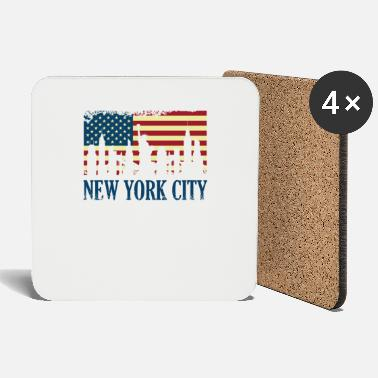 New York City - Grande regalo di Apple New York NYC America - Sottobicchieri