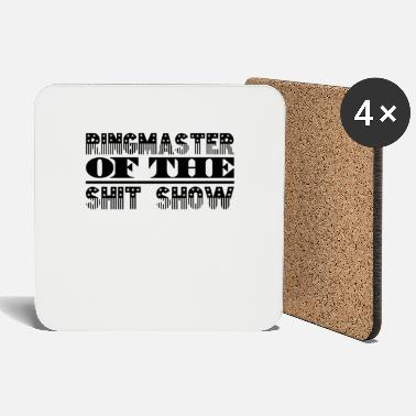 Spoke Genie Ringmaster Shit Show - Coasters