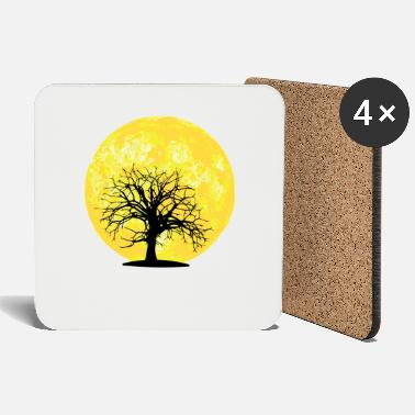 Moon Landings Moon - tree - Coasters