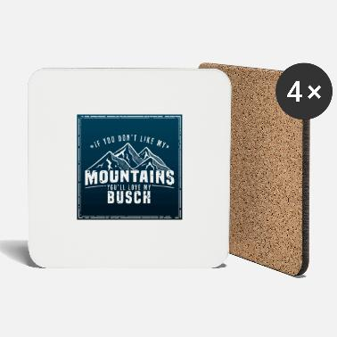 Sexual Innuendo Mountains bush hiking Sexual allusion gift - Coasters