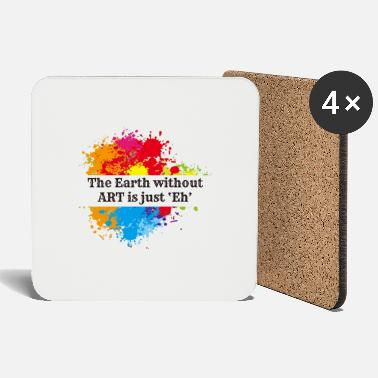 World Economic Earth Without Art - Coasters