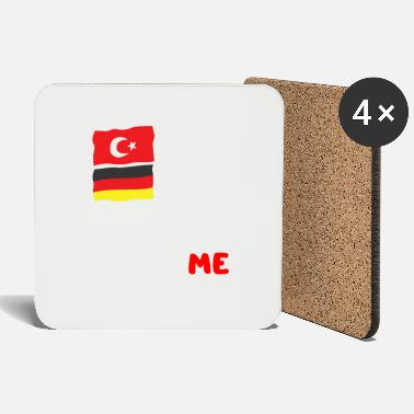 National Pride German Turk German Turk National pride Humor - Coasters