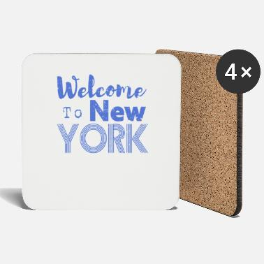 Hip Welcome to New York Vintage - Untersetzer