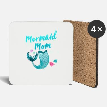 Papa Mom mother mothers day mom wife mom gift - Coasters