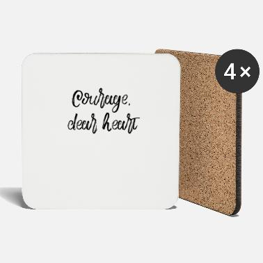 Mother's Day Courage Dear Heart - Coasters