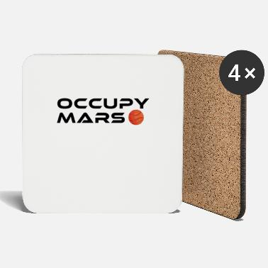 Occupy Vintage Space Astronomy Occupy Mars Gift - Onderzetters