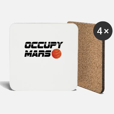 Occupy Occupy Mars Space Travel Astronomy Gift - Onderzetters