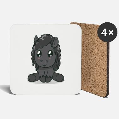 Horse Fan Friesian Horse Horse Fan Gift - Coasters
