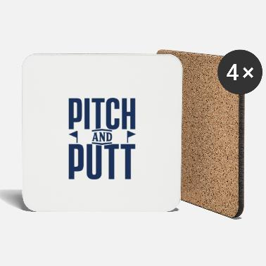 Pitching Putt Pitch Pitch and Putt Pitch & Putt Golfing - Coasters
