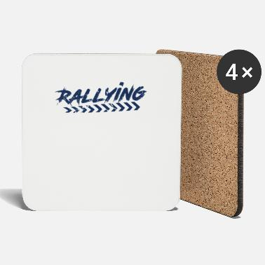 Rally Rally Fan Rallying Sport Rally Rally - Coasters