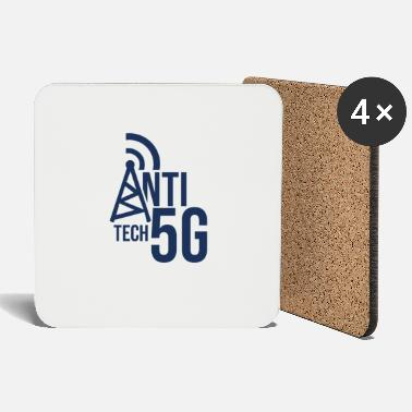 Anti 5G stop mobile radiation 5G opponents network - Coasters