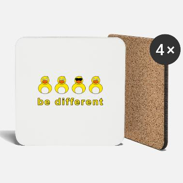 Squeaker be different squeaky duck - Coasters