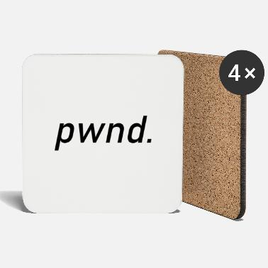 Pwnd pwnd gift, gaming gamble computer games - Coasters