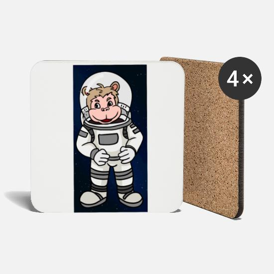 Nasa Mugs & Drinkware - Space Astronaut Spacecraft Space All - Coasters white