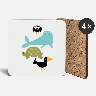 For Children Animals for children - Coasters