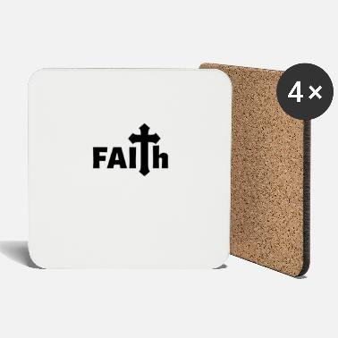 Jerusalem FAITH Jesus Church Religion Gift Christianity - Coasters