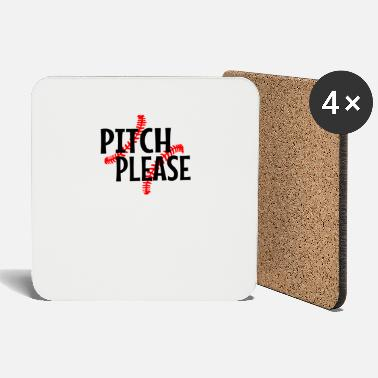 Pitching Pitch Please - Coasters