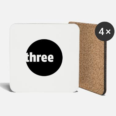 Three Three - Coasters
