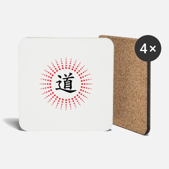 Jlb Mugs & Drinkware - JLB Dao Chinese the way 220520182 - Coasters white