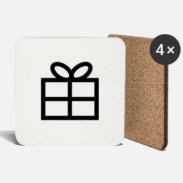 Present Gift - Present - Coasters