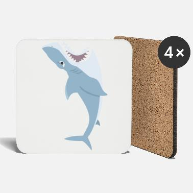 Throat Dangerous Pets (The Shark Edition) - Coasters