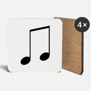 Notes Note - Coasters