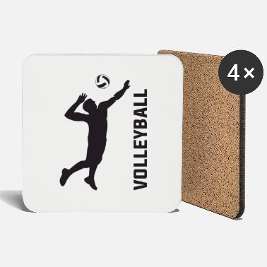 Strike volleyball strike - Coasters