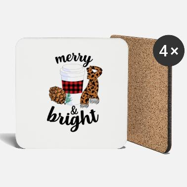 Bright Merry And Bright - Coasters