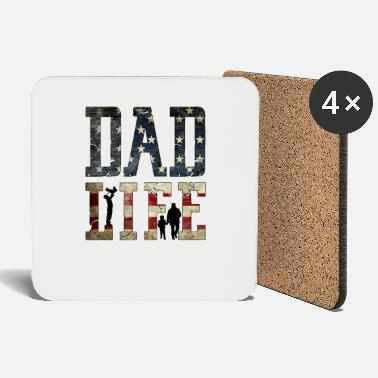 Life Force Dad Life - Coasters