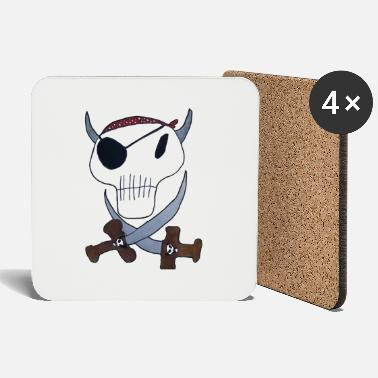 Pirate Cloth Priate clothing - Coasters