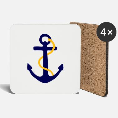 Foul Fouled Anchor - Coasters