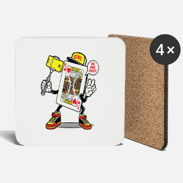 King King of Hearts - Coasters