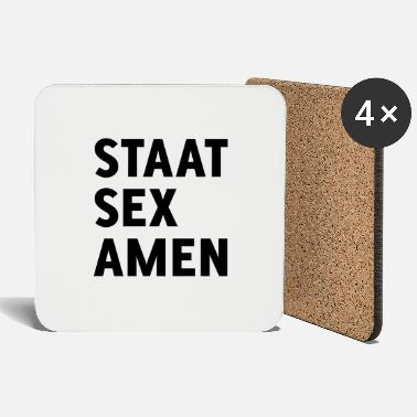 State Exam State Examination (State Sex Amen) - Coasters