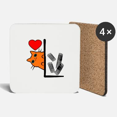 Proof Of Love Cats love proof - Coasters