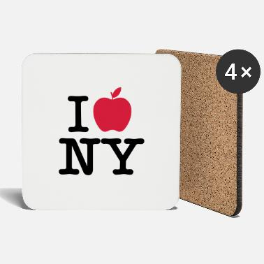 Love I love big apple 1 - Coasters