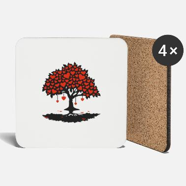 Love hearttree_2f - Coasters